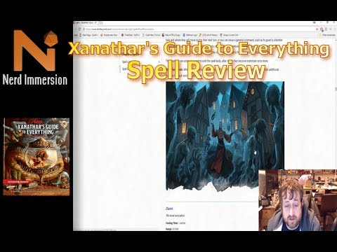 xanathar guide to everything leak