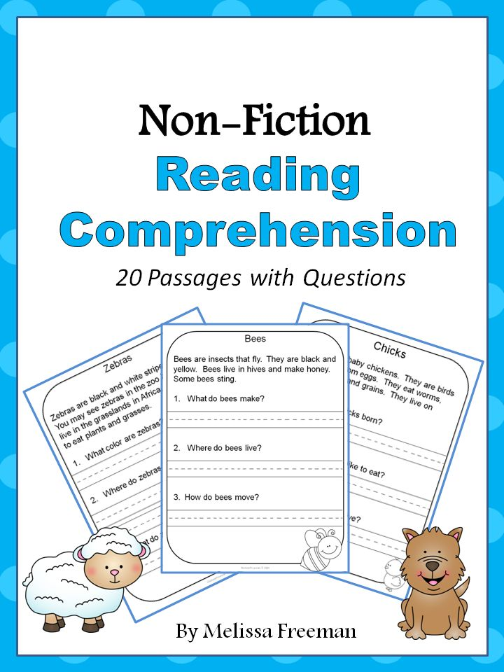 non fiction guided reading questions
