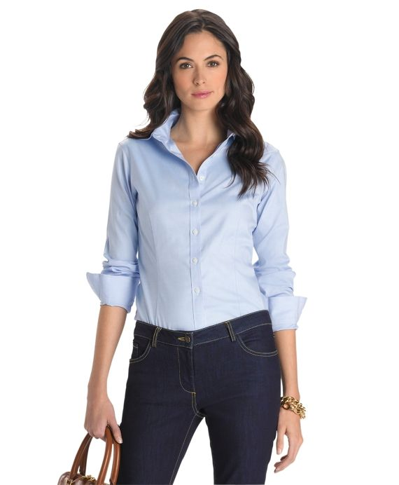 brooks brothers womens shirt fit guide