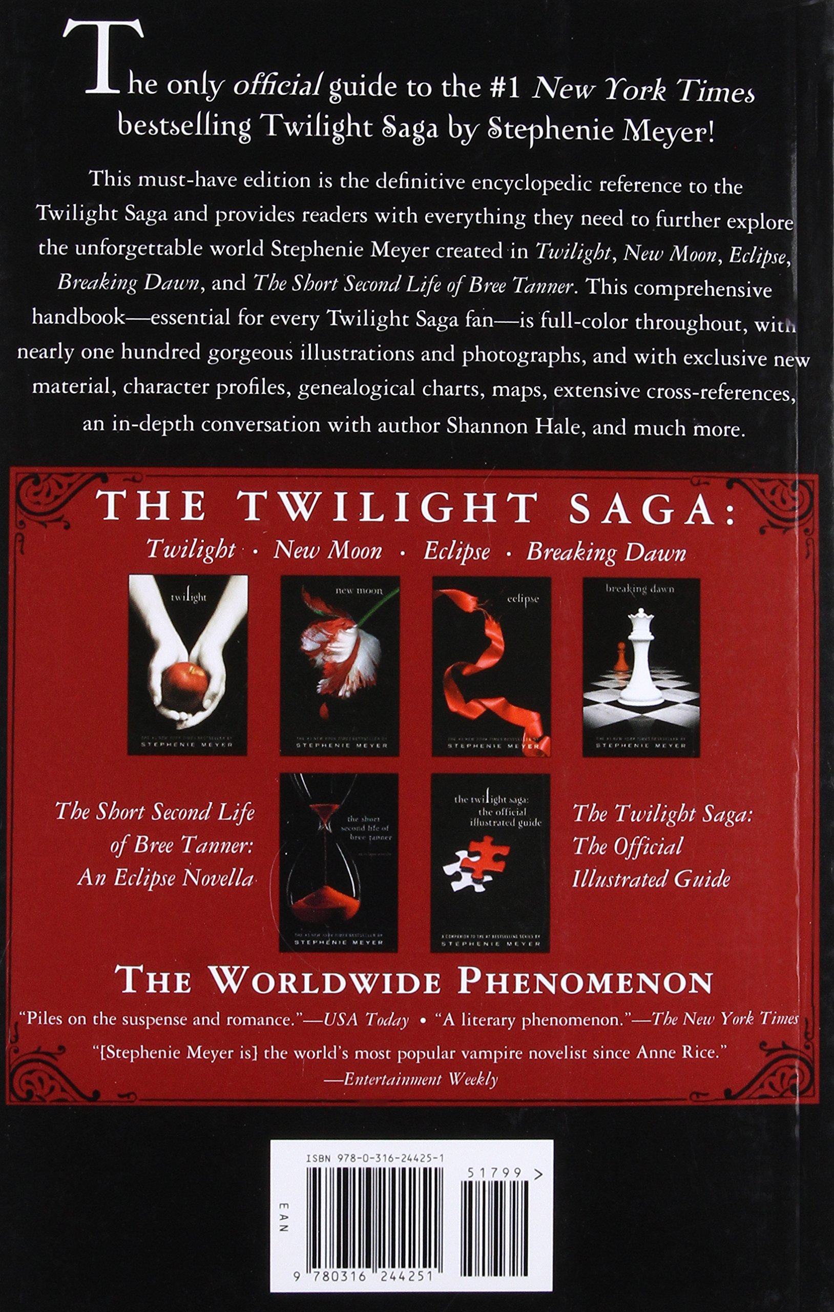 the twilight saga the official guide