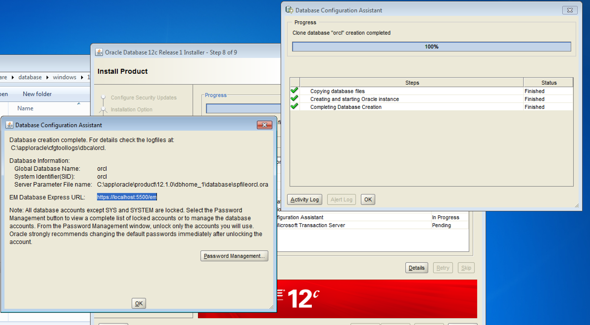 oracle 12c installation guide windows