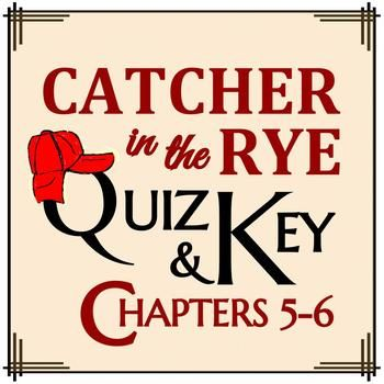 the catcher in the rye study guide questions and answers