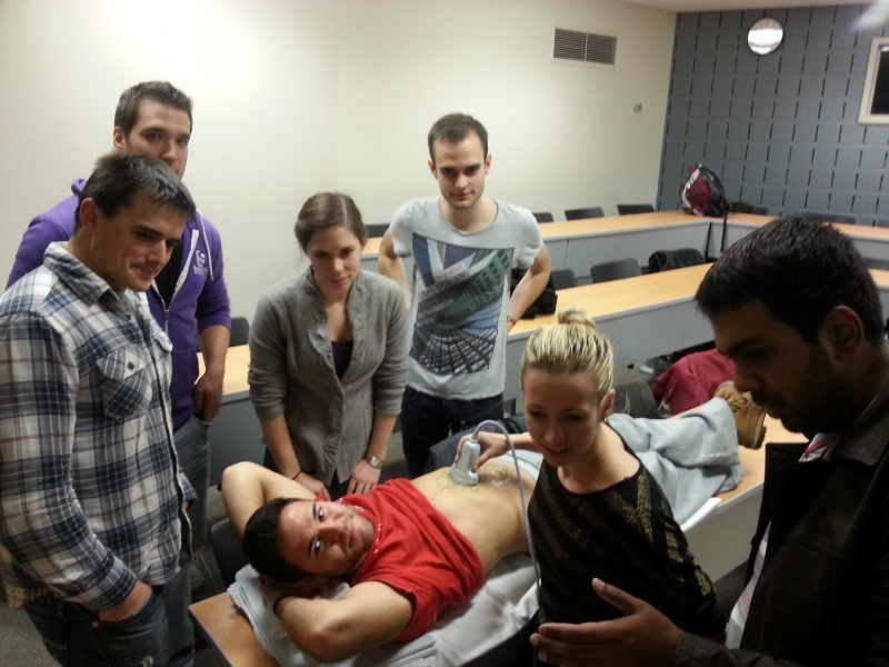 ultrasound guided central line insertion course